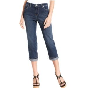 Style & co. Petite Jeans, Tummy-Control. B063